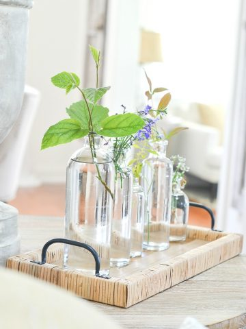 QUICK AND EASY SUMMER CENTERPIECE