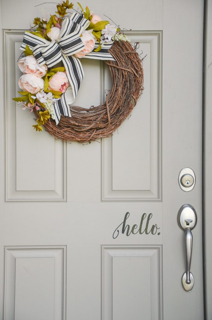 SUMMER FRONT DOOR