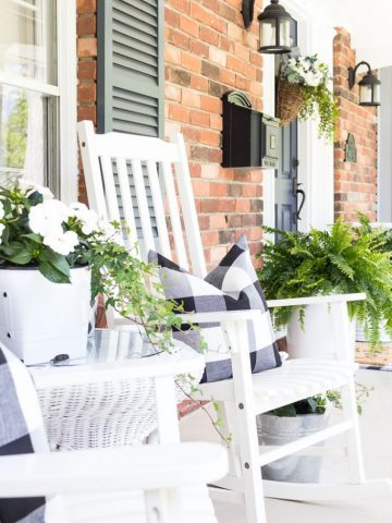 BEST SUMMER PORCH AND PATIO TIPS