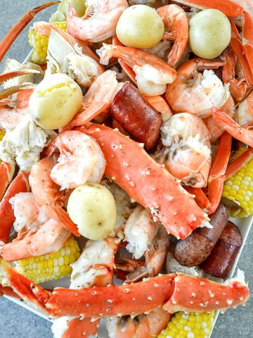 DELICIOUS, AMAZING LOW COUNTRY BOIL