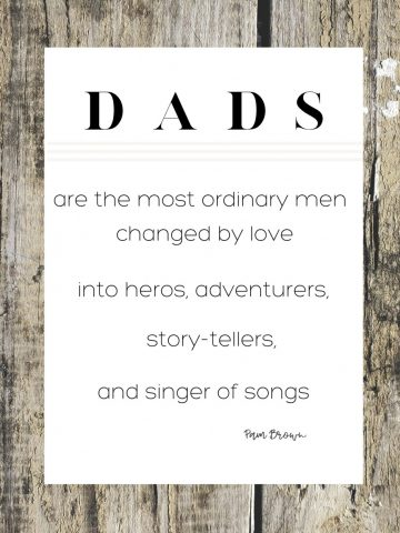 "FATHER DAY ""DADS"" PRINTABLE"