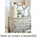 A CHEST WITH A MIRROR ABOVE IT BECOMES A ROOM'S FOCAL POINT