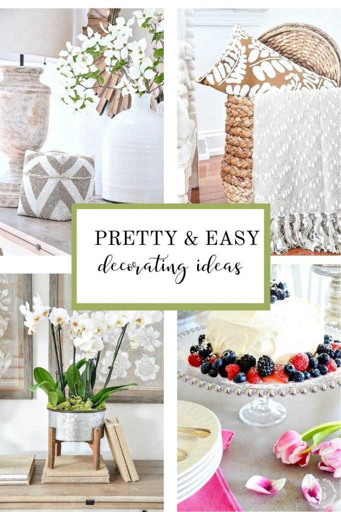 COLLAGE OF EASY HOME DECOR DIY