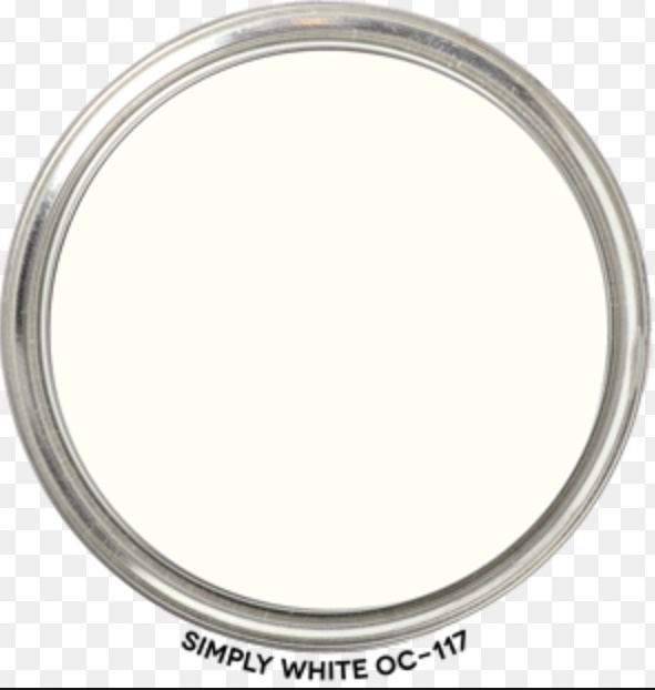 Simply White paint by Benjamin Moore