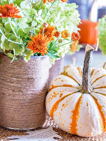 EASY FALL DECORATING DIY IDEA