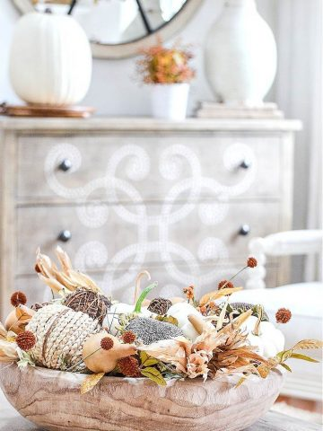 DECORATING FOR FALL WITH NATURALS