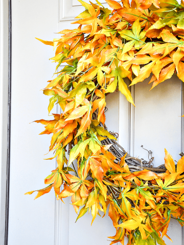 FABULOUS FALL WREATH DIY ANYONE CAN MAKE