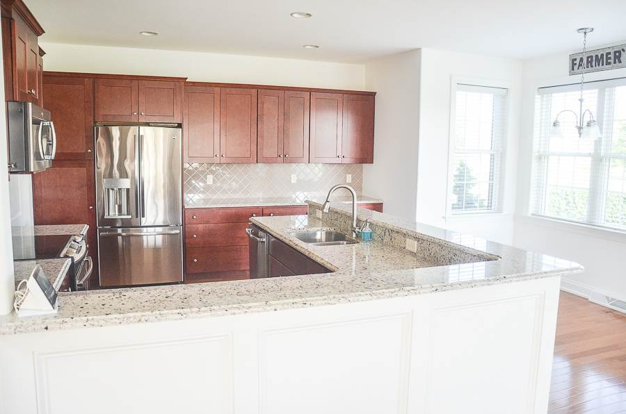BEFORE IMAGE OF A KITCHEN