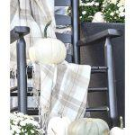 ROCKER ON PORCH WITH FALL ELEMENTS