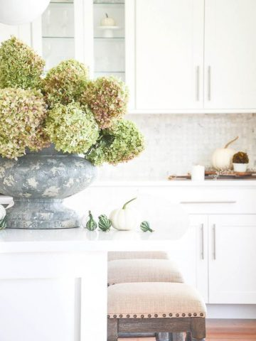 FALL KITCHEN DECORATING IDEAS AND TOUR