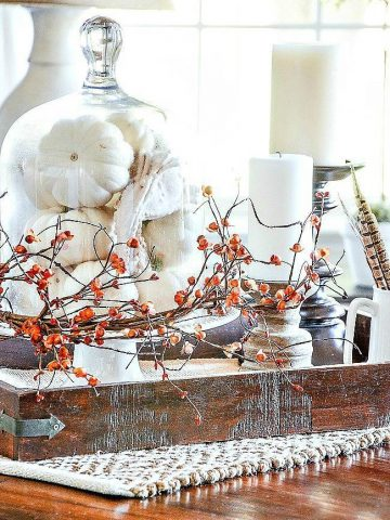 DECORATE FOR FALL THE EASY WAY