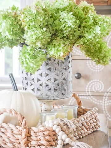STEP BY STEP STYLING A FALL VIGNETTE