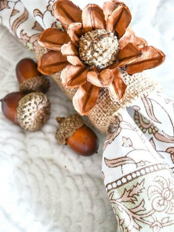 4 THANKSGIVING NAPKIN RINGS YOU CAN MAKE
