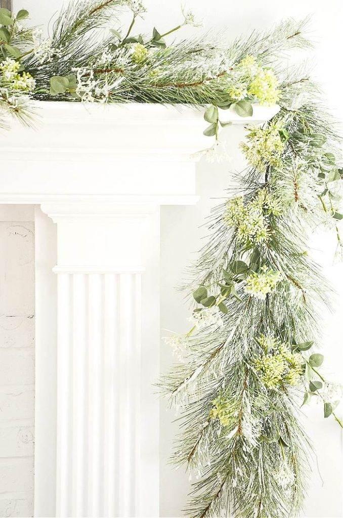 CHRISTMAS MANTEL GREENS