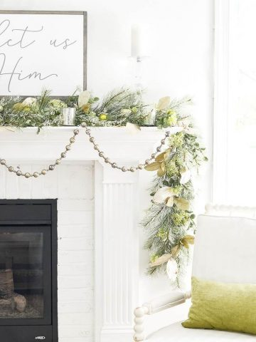BEAUTIFUL CHRISTMAS MANTEL IDEAS