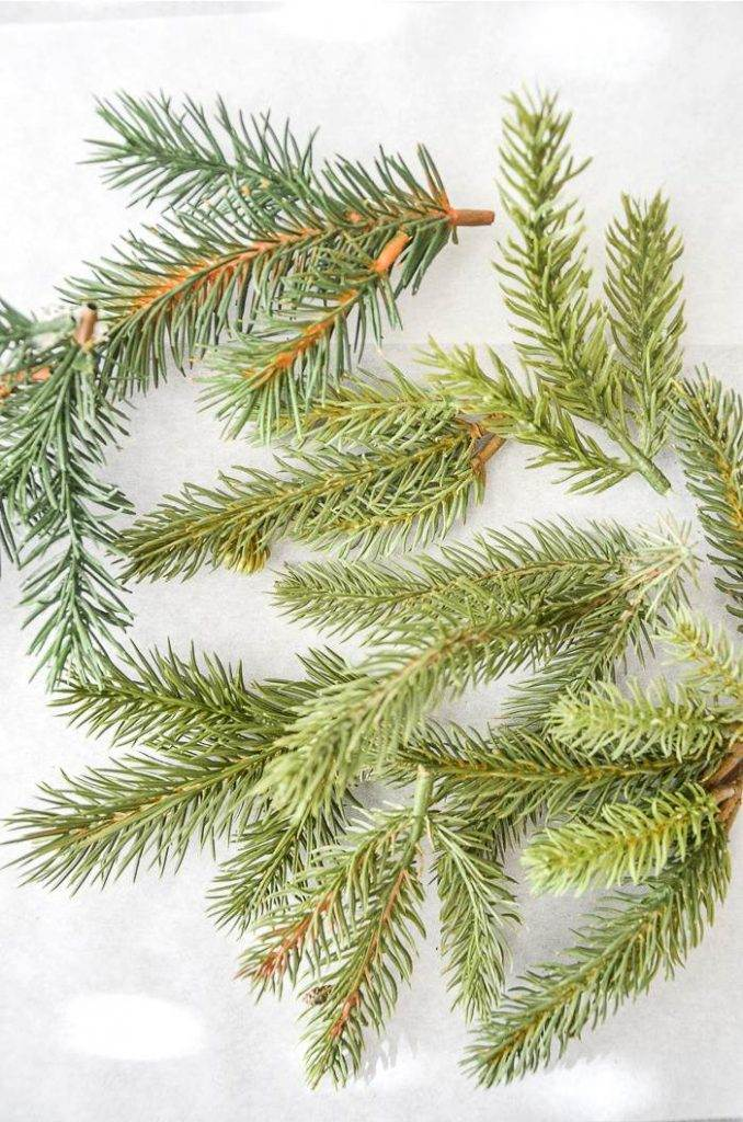 FAUX EVERGREENS
