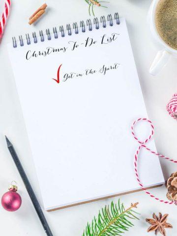 10 FUN WAYS TO GET INTO THE CHRISTMAS SPIRIT