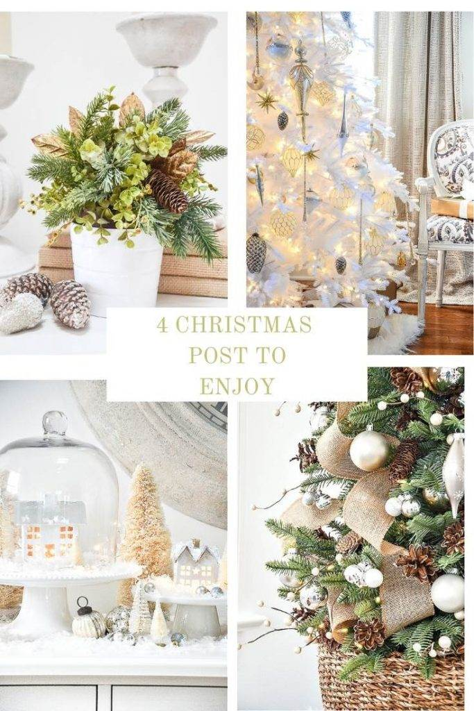 collage of Christmas posts