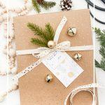 PRESENT WITH A GIFT TAG