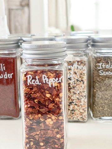 ORGANIZING SPICES IN YOUR KITCHEN