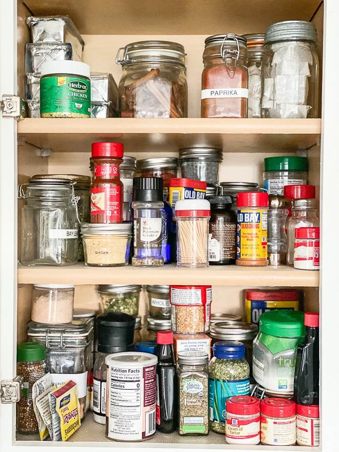 MESSY SPICE CUPBOARD