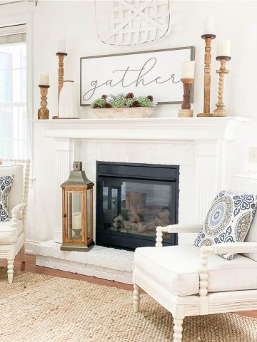 5 WINTER MANTEL IDEAS
