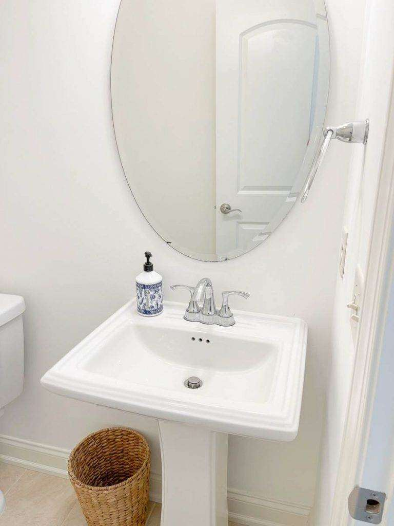 Powder Room Makeover And Ideas Stonegable