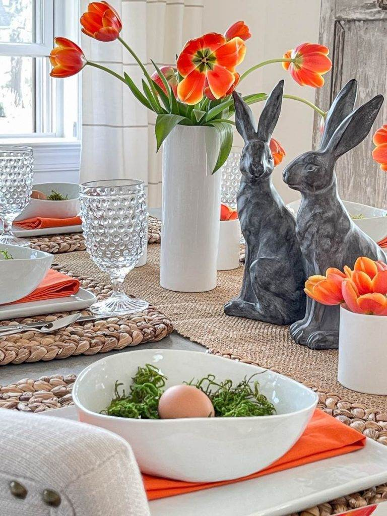 A NON TRADITIONAL EASTER TABLE