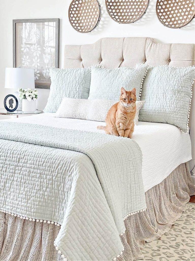 BEAUTIFULLY MADE BED