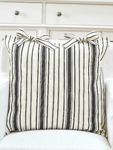 5 PRETTY NO-SEW DIY PILLOWS