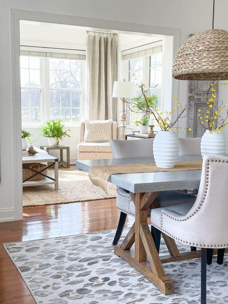 NEUTRAL ROOMS IN A HOME