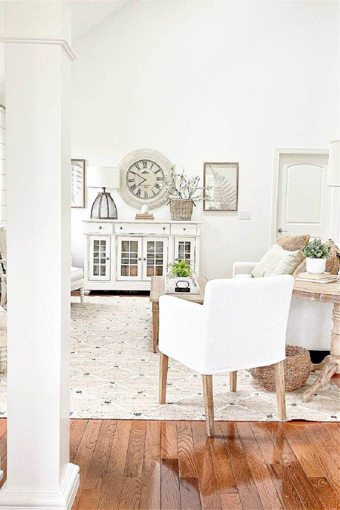LIVING ROOM USING EASY DECORATING IDEAS