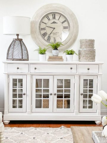 TIPS FOR BUDGET DECORATING