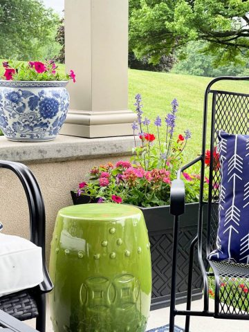 SMALL SUMMER PORCH AND PATIO IDEAS AND TOUR