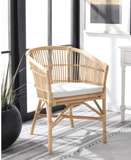 CAIN CHAIR IS TRENDY