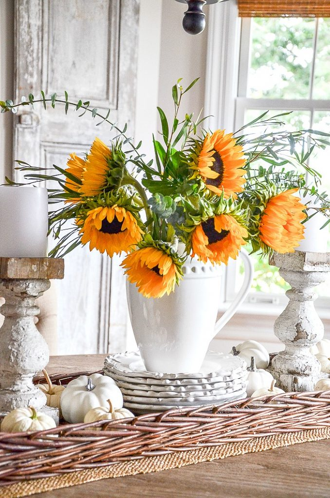 SUNFLOWERS ARE A GREAT FALL IDEAS