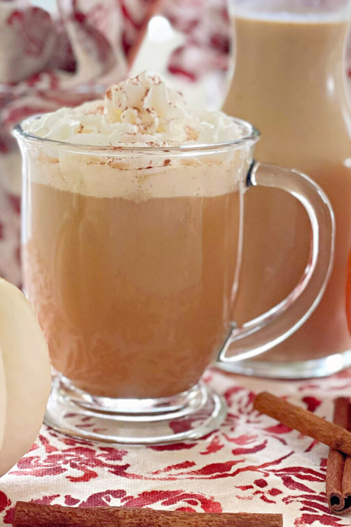 Pumpkin Spice Creamer is so easy to make with real ingredients including pumpkin! Enjoy with delicious fall recipe!