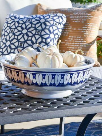FALL PORCH AND PATIO TOUR AND IDEAS