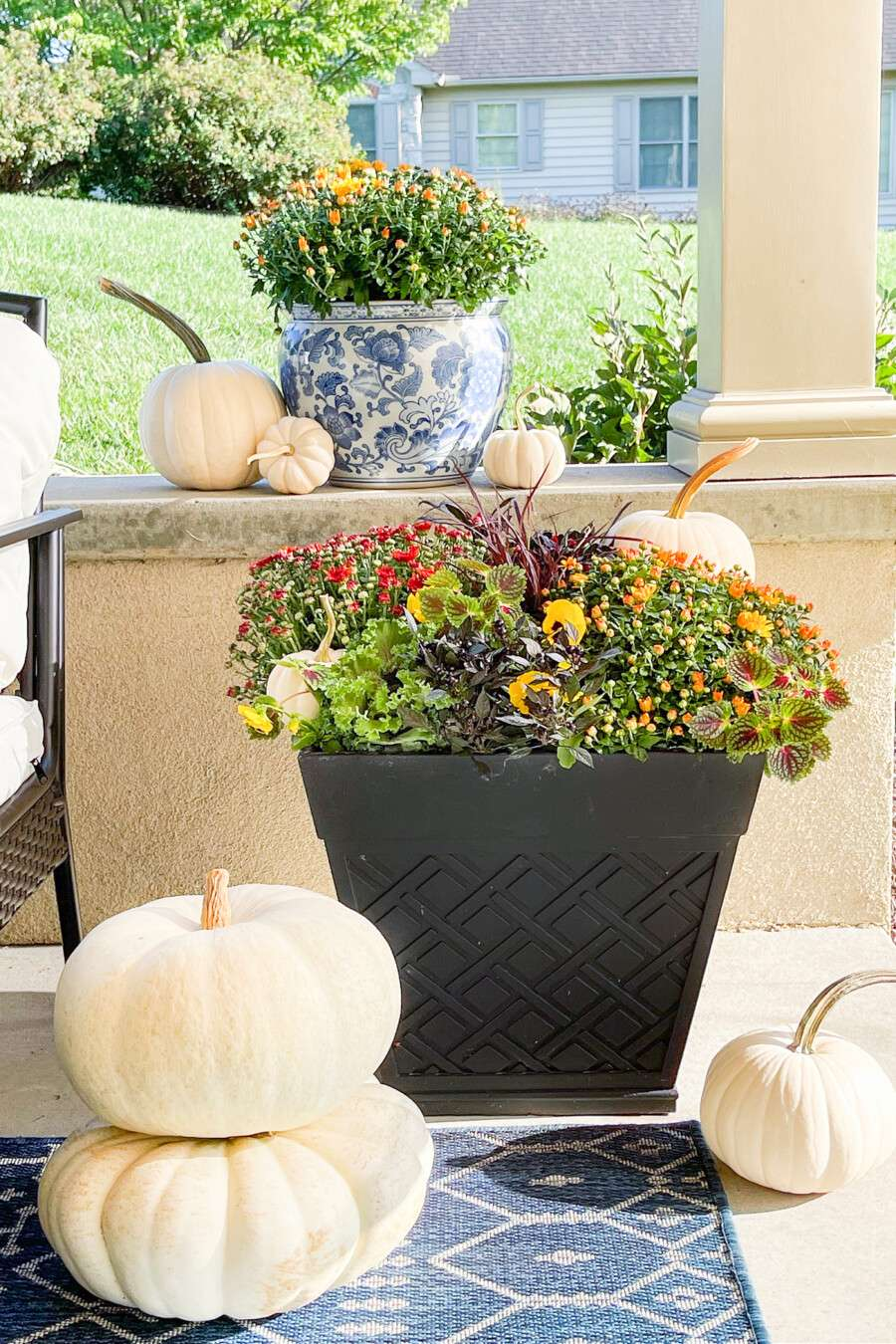 image for fall planter post