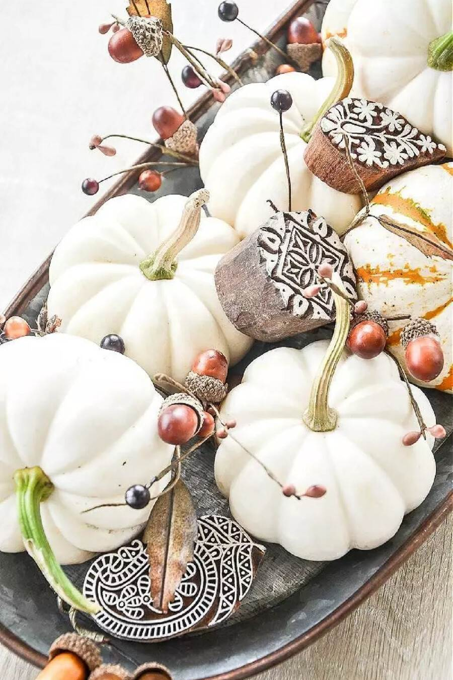 PIN FOR FALL DECORATING POST