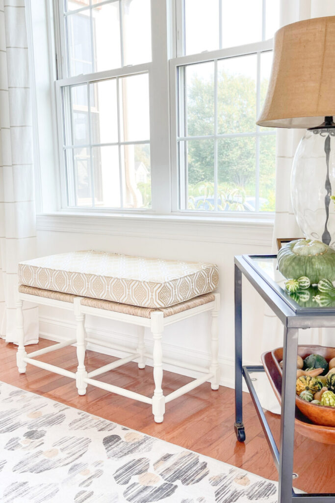DECORATING IDEAS FOR FALL IN A DINING ROOM