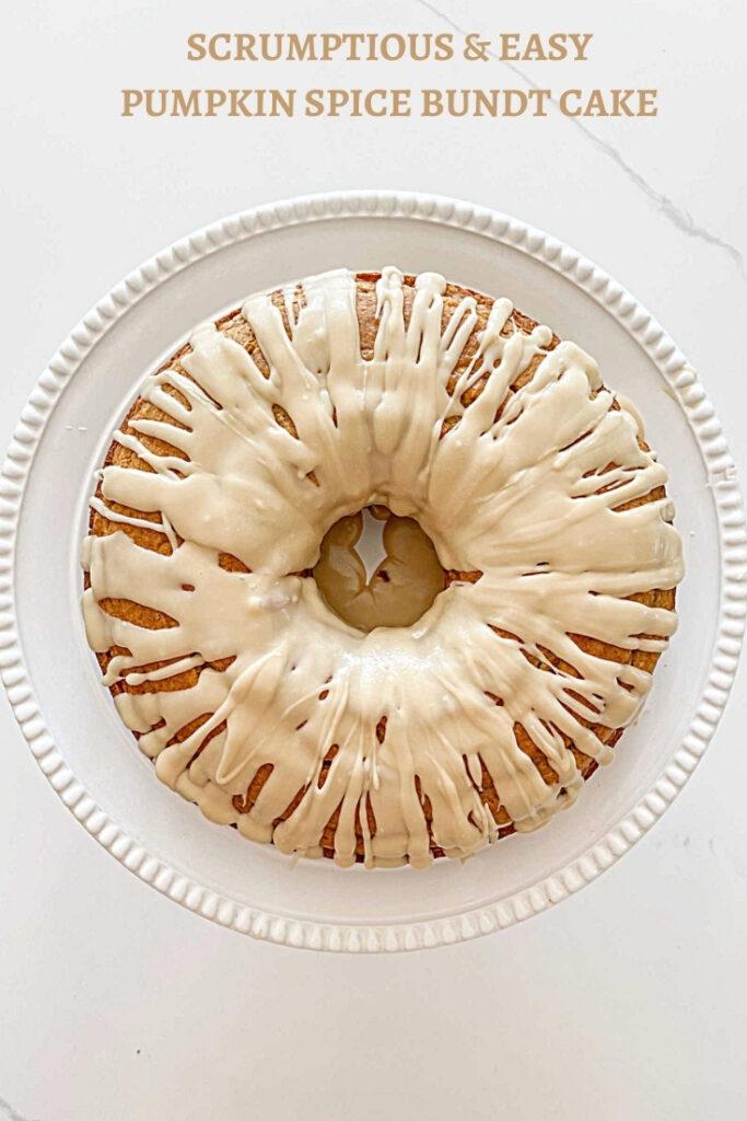 PIN FOR PUMPKIN SPICE BUNDT CAKE